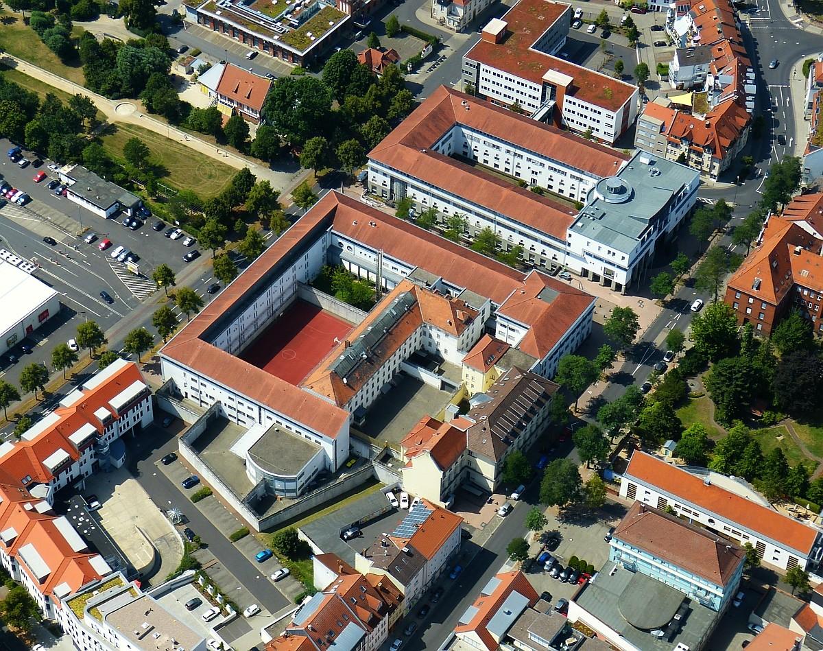 Luftbild über JVA Fulda