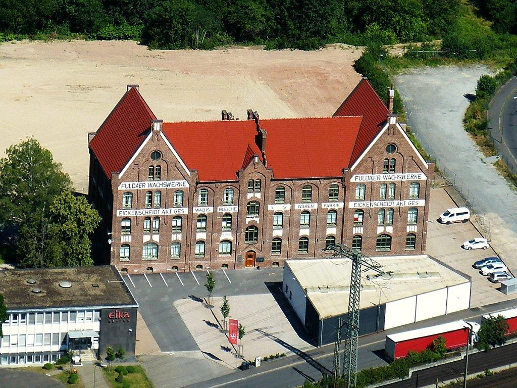 Luftbild Eika Kerzenfabrik Fulda