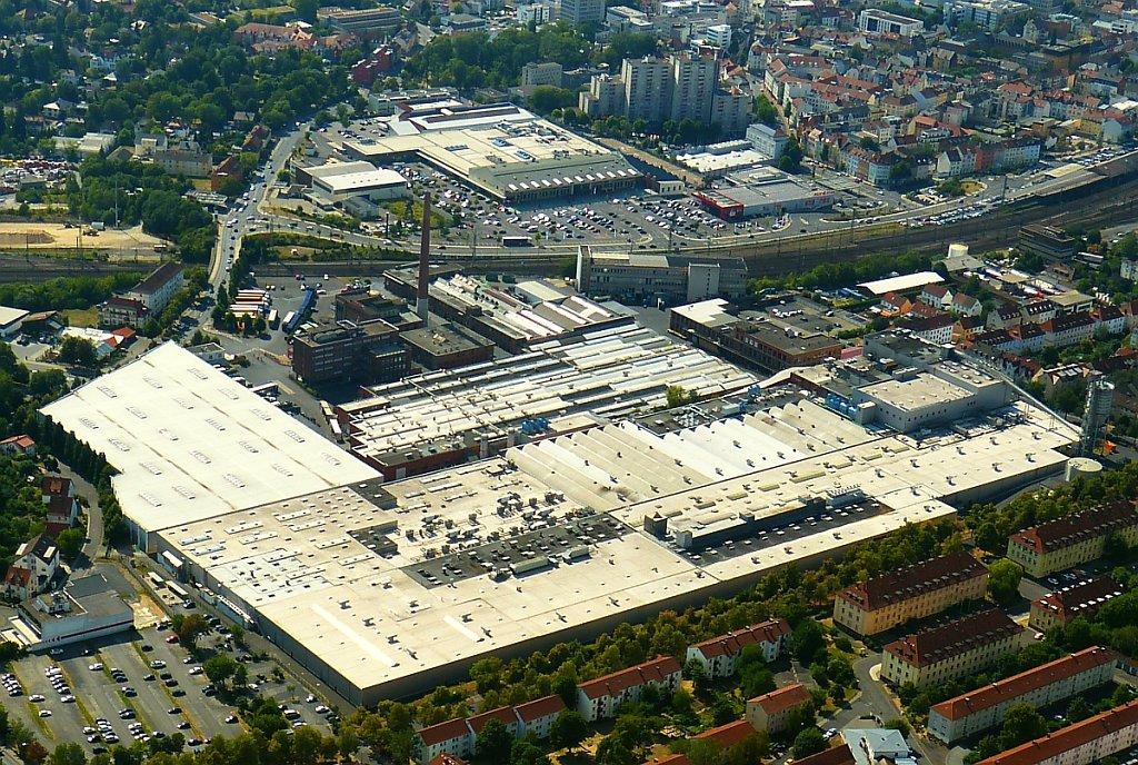 Gummiwerke Fulda Luftbild