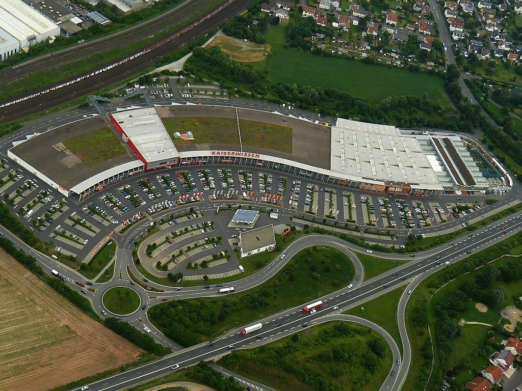 Kaiserwiesen Luftbild
