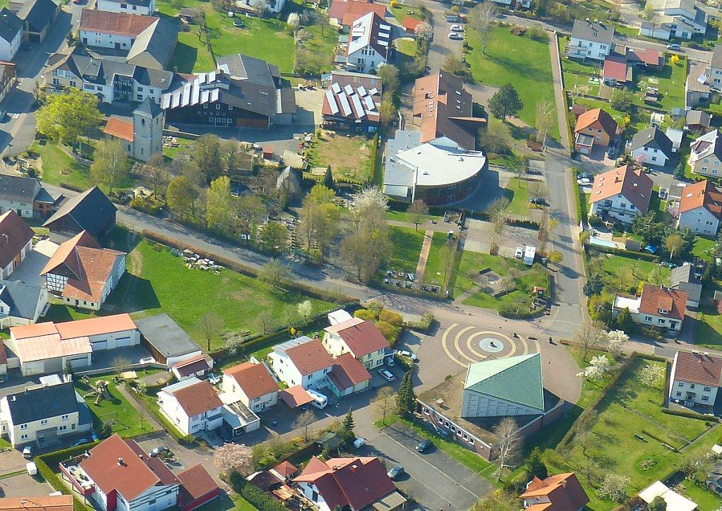 Löschenrod Luftbild