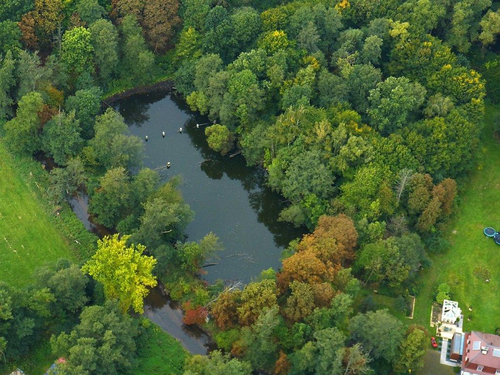 Rhönbad Bronzell Luftbild